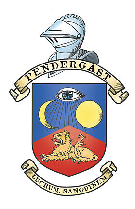 Pendergast Coat of Arms